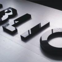 litery z pcw, malowane + lico z plexi