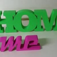 dekoracyjne napisy stojące
