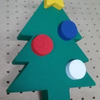 świąteczna dekoracja 3D - choinka