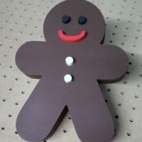 świąteczna dekoracja 3D - ciastek