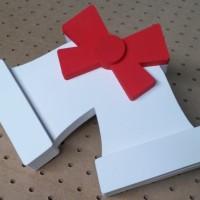 świąteczna dekoracja 3D - dzwonek