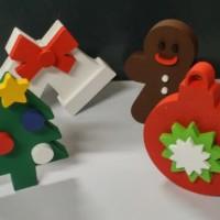 świąteczne dekoracje 3D