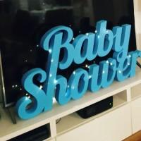 dekoracja na baby shower