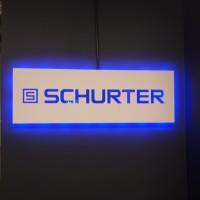 panel pcw z niebieskim podświetlenim led